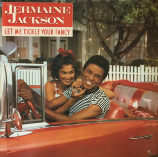 Jermaine Jackson - Let Me Tickle Your Fancy (LP) (EX/G-VG)